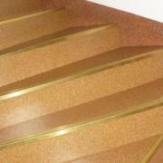 Kątownik schodowy mosiężny 35x16mm