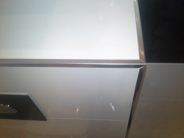 Listwa wykończeniowa 10x10mm Inox